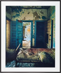 American:Modern, CHRISTOPHER BARNES (American, 20th Century). Bed and Doors,1987. Exhibition C - print. 28 x 35 inches (71.1 x 88.9 cm)...