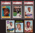 Baseball Cards:Lots, 1958 - 1973 Topps Hank Aaron card Collection (6). ...