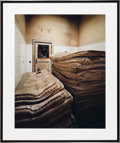 American:Modern, CHRISTOPHER BARNES (American, 20th Century). Mattresses 2,1987. Exhibition C - print. 20 x 25 inches (50.8 x 63.5 cm). ...