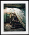 Photographs, CHRISTOPHER BARNES (American, 20th Century). Stair Light, 1987. Exhibition C - print. 20 x 25 inches (50.8 x 63.5 cm). B...
