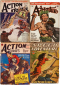 Pulps:Adventure, Assorted Adventure Pulps Group (Various, 1925-46) Condition: Average VG-.... (Total: 5 Items)