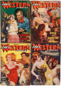 Pulps:Western, Spicy Western Stories Group (Culture, 1937-38) Condition: Average VG-.... (Total: 7 Items)