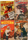Pulps:Western, Assorted Western Pulps Group (Various, 1943-45) Condition: VG- except as noted.... (Total: 5 Items)
