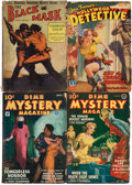Pulps:Detective, Assorted Detective Pulps Group (Various, 1925-43) Condition: Average VG-.... (Total: 5 Items)