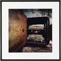 Photographs, CHRISTOPHER BARNES (American, 20th Century). Autoclave, 1987. Exhibition C - print. 16 x 16 inches (40.6 x 40.6 cm). Ben...