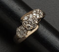 Estate Jewelry:Rings, Brown Diamonds & Gold Ring. ...