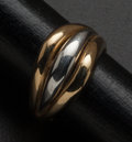 Estate Jewelry:Rings, Two-Tone Gold Ring. ...