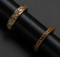 Estate Jewelry:Rings, Citrine Eternity Band & Black Hills Gold Band. ... (Total: 2Items)