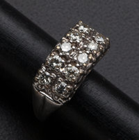 Diamond & Gold Ring With Appraisal
