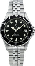 Timepieces:Wristwatch, Tudor Mid-Size Prince Oysterdate Submariner. ...