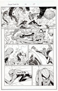 "Original Comic Art:Complete Story, John Romita Jr. and Scott Hanna Amazing Spider-Man #58 Complete 22-Page Story ""Happy Birthday Part Two"" Original A..."