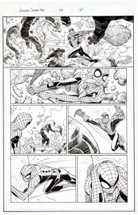 "John Romita Jr. and Scott Hanna Amazing Spider-Man #58 Complete 22-Page Story ""Happy Birthday Part Two"" Origin..."