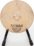 Musical Instruments:Drums & Percussion, Sabian Brass Crash Cymbal Lot of 2....