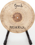 "Musical Instruments:Drums & Percussion, Istanbul Agop Lenny White Epoch 18"" Brass Crash Cymbal...."