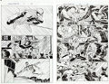 "Original Comic Art:Complete Story, John Romita Jr. and Scott Hanna Amazing Spider-Man #57 Complete 23-Page Story ""Happy Birthday Part One"" Original A..."