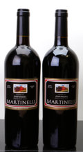 Domestic Misc. Red, Martinelli Zinfandel. Jackass Hill. 2007 Bottle (1). 2009 Bottle (1). ... (Total: 2 Btls. )