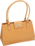 Luxury Accessories:Bags, Lambertson Truex Camel Leather Medium Kansas Tote Bag. ...
