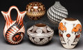 American Indian Art:Pottery, FIVE SOUTHWEST POTTERY VESSELS . Various Artists. ... (Total: 5Items)