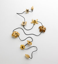 TED MUEHLING (American, 20th Century) Vegetable Ivory Lei, 2010 Benefitting The Nature Conservanc