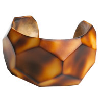 Ted Muehling (American, 20th Century) Vegetable Ivory Cuff (marbled) , 2010 Benefittin