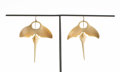 Estate Jewelry:Earrings, Ted Muehling (American, 20th Century). Vegetable Ivory Manta Ray Earrings, 2011. Benefitting The Nature Conservancy: ...