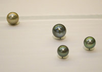 Ted Muehling (American, 20th Century) 4 Polished Pearls, 2011 Benefitting The Nature Conservancy: