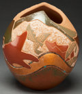 American Indian Art:Pottery, A SAN ILDEFONSO POLYCHROME JAR. Russell Sanchez. c. 2000. ...