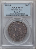 Bust Half Dollars: , 1819/8 50C Large 9 XF40 PCGS. O-103a. PCGS Population (25/130). NGCCensus: (0/0). (#6119)...
