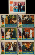 """Movie Posters:Rock and Roll, Rock All Night and Other Lot (American International, 1957). LobbyCards (7) (11"""" X 14""""). Rock and Roll.. ... (Total: 7 Items)"""