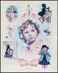 """Movie Posters:Miscellaneous, Shirley Temple (Nostalgia Merchant, 1977). Autographed Personality Poster (24"""" X 30""""). Miscellaneous.. ..."""