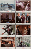 "Movie Posters:James Bond, A View to a Kill (United Artists, 1985). Lobby Card Set of 8 (11"" X14""). James Bond.. ... (Total: 8 Items)"