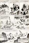 Original Comic Art:Panel Pages, Bernie Wrightson Swamp Thing #10 Arcane Page 16 Original Art(DC, 1974)....