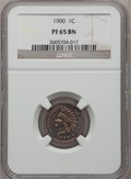 Proof Indian Cents: , 1900 1C PR65 Brown NGC. NGC Census: (36/16). PCGS Population (6/4).Mintage: 2,262. Numismedia Wsl. Price for problem free ...