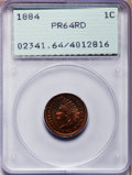 Proof Indian Cents: , 1884 1C PR64 Red PCGS. PCGS Population (44/89). NGC Census:(20/82). Mintage: 3,942. Numismedia Wsl. Price for problem free...