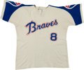 Baseball Collectibles:Uniforms, 1972-73 Jim Busby Game Worn Atlanta Braves Jersey. ...