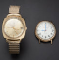 Timepieces:Wristwatch, Two Accutron's Wristwatches. ... (Total: 2 Items)