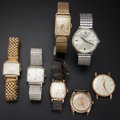 Timepieces:Wristwatch, A Lot Of Seven Wristwatches. ... (Total: 7 Items)