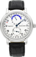 Timepieces:Wristwatch, Maurice Lacroix Masterpiece Régulateur MP 6148. ...