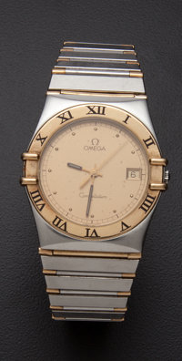 Omega Steel & Gold Constellation