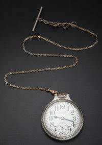 Hamilton 21 Jewel 992 Pocket Watch