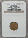 Civil War Merchants, Story & Southworth, New York, NY MS62 NGC. Fuld-NY630BV-20b....