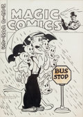 Original Comic Art:Covers, Magic Comics #69 Dagwood Cover Original Art (David McKay,1945)....