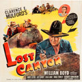 Memorabilia:Poster, Lost Canyon Movie Poster (United Artists, 1942)....