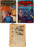 Pulps:Horror, Strange Tales Group (Clayton, 1932-33).... (Total: 3 Items)