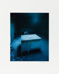 American:Modern, CHRISTOPHER BARNES (American, 20th Century). Desk 1, 1987.Chromogenic print 13 x 10-1/2 inches (33.0 x 26.7 cm). Signed...