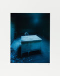 American:Modern, CHRISTOPHER BARNES (American, 20th Century). Desk 1, 1987. Chromogenic print 13 x 10-1/2 inches (33.0 x 26.7 cm). Signed and...