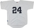 Baseball Collectibles:Uniforms, Robinson Cano Signed New York Yankees Jersey....
