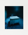 American:Modern, CHRISTOPHER BARNES (American, 20th Century). Desk 1, 1987.Chromogenic print 13 x 10-1/2 inches (33.0 x 26.7 cm). Signedand...