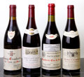 Red Burgundy, Morey St. Denis. 1995 Aux Cheseaux, Cuvee Unique, Arlaud Bottle (1). Chambertin. 1996 Clos de Beze, D. La... (Total: 4 Btls. )