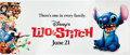 Memorabilia:Movie-Related, Lilo and Stitch Double-Sided Nylon Promotional Banner (WaltDisney, 2002)....